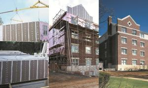 Permanent modular dormitory for Muhlenburg College in Allentown, PA